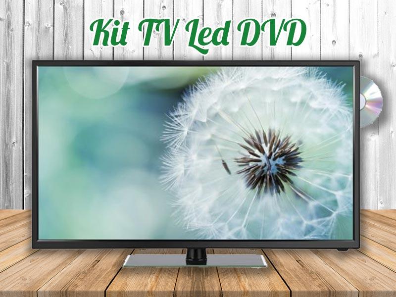 TV LED DVD para Autocaravanas