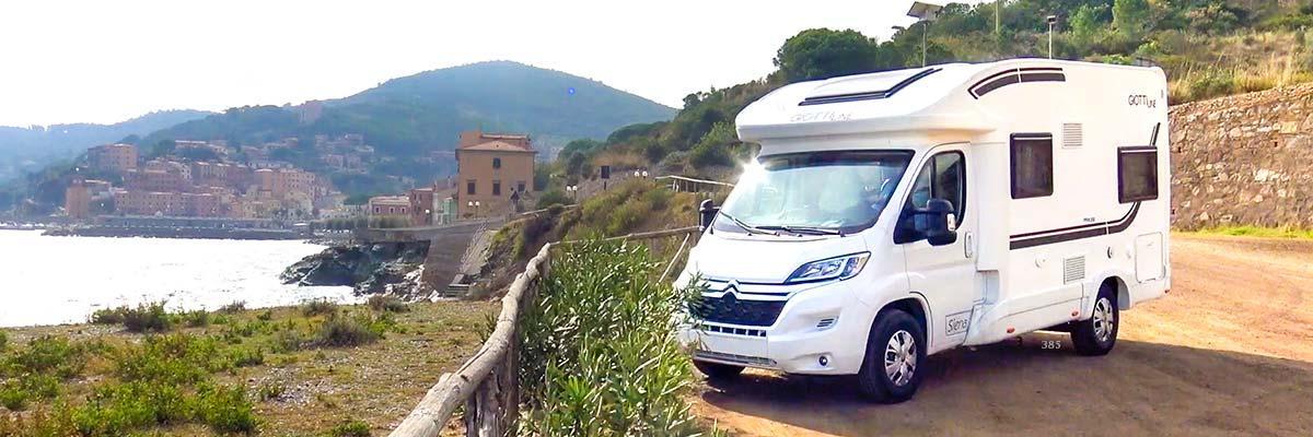 Viajar de vacaciones con seguridad en autocaravana