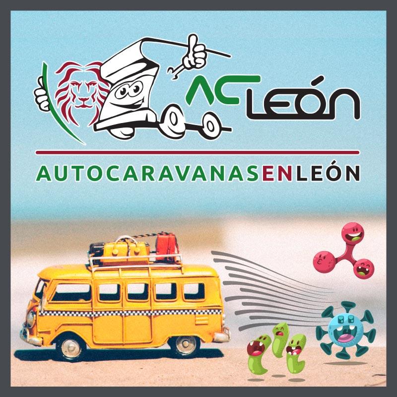 Vacaciones seguras en autocaravana mosaico